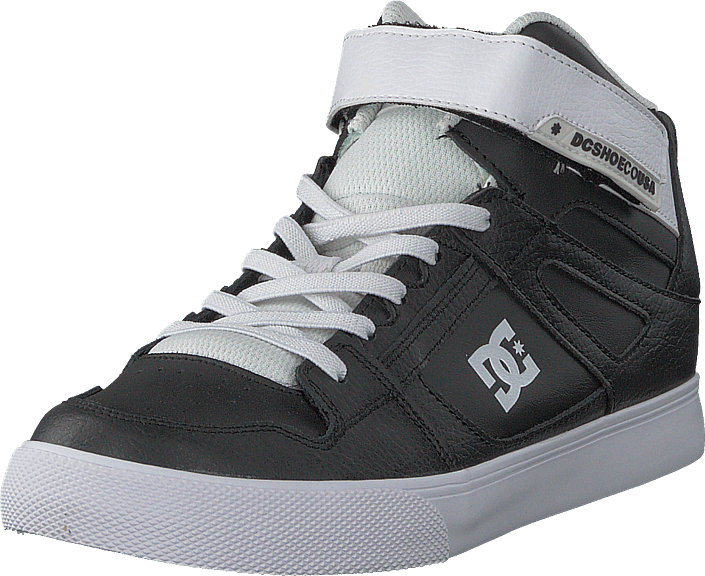 Ev OnlineFOOTWAY BlackWhite no Sko Kjøp top sorte DC Pure High Shoes 76yYbvfg