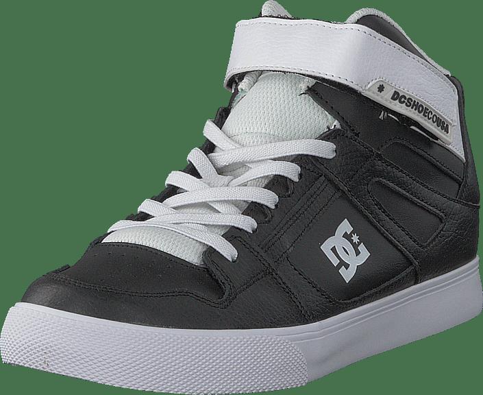 547ab54eb732 Buy DC Shoes Pure High-top Ev Black White black Shoes Online ...