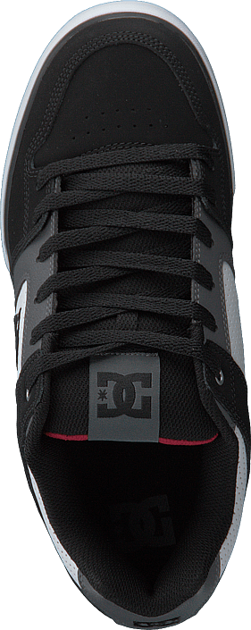 DC Shoes - Pure White/Black/Red
