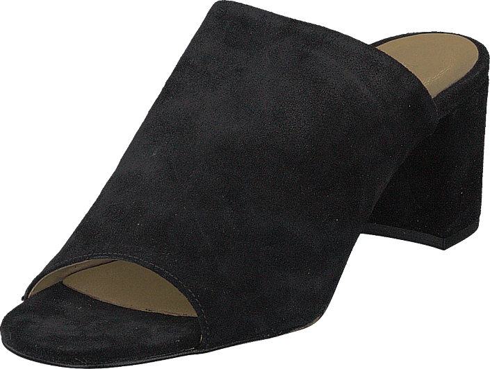 Pieces - Psmela Suede Muele Black