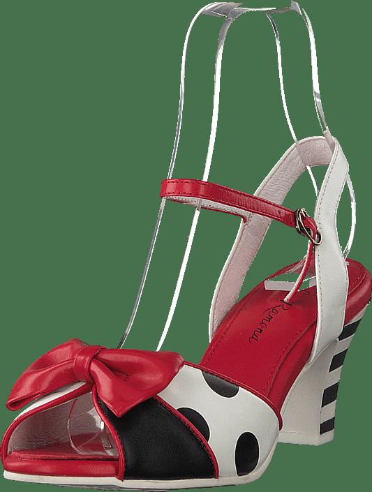 Lola Ramona - Ava Black/red/white