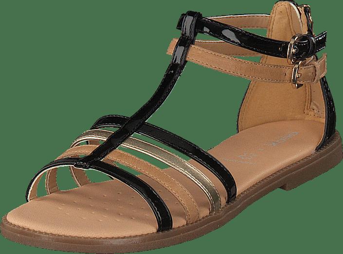 Online Bruns Geox Karly Tqrdxshc Sandal Black Jr Acheter Chaussures LGSUqzVMp