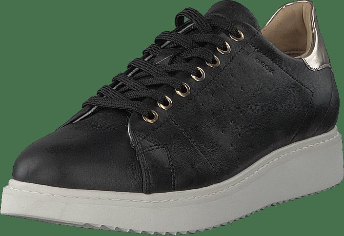 07227abd9da Buy Geox D Thymar Black grey Shoes Online | FOOTWAY.co.uk