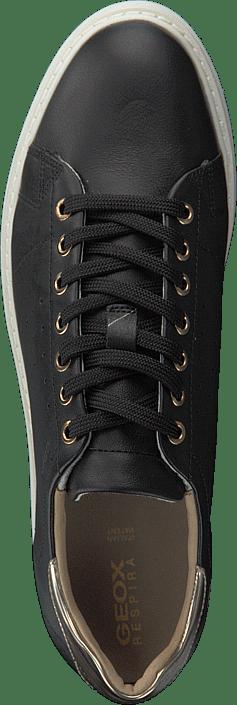 Online Grå Thymar Black Sneakers Sko D Geox Kjøp wqIYUU