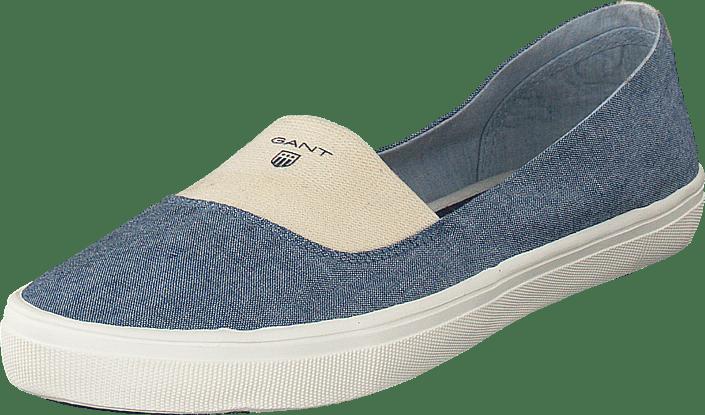 Gant New Haven Vintage blå beige Skor Online