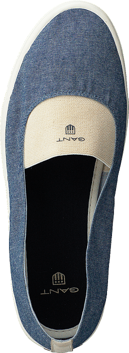 Gant Sko Haven Vintage Blue Online Beige New Flats Kjøp RqdwOR