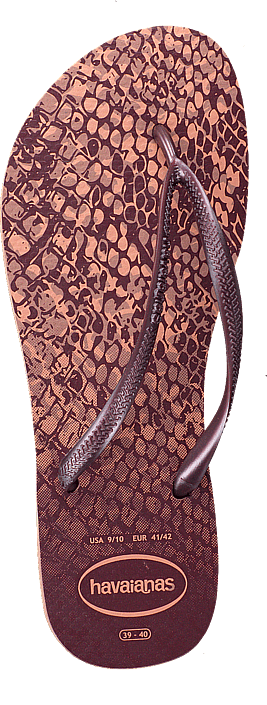 Kjøp Havaianas Slim Animals Rosa Crocus Sko Online