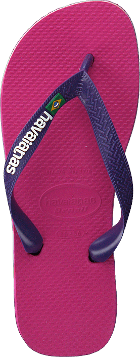 Havaianas - Kids Brasil Logo Raspberry Rose/new Purple