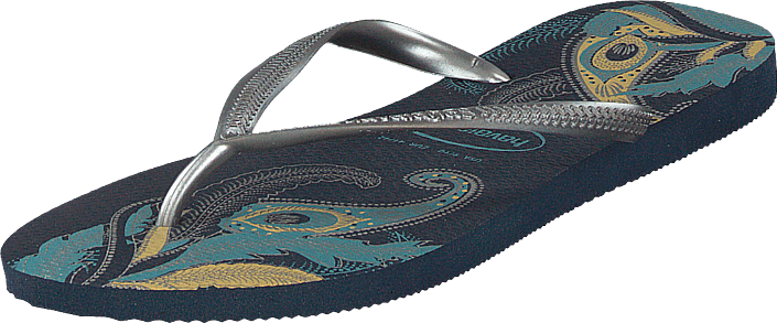 Slim Organic Navy/silver