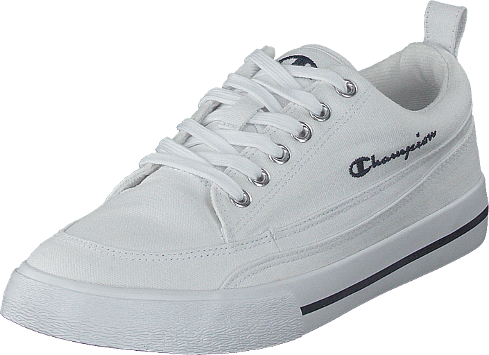 Champion - Low Cut Shoe Smu Crew White