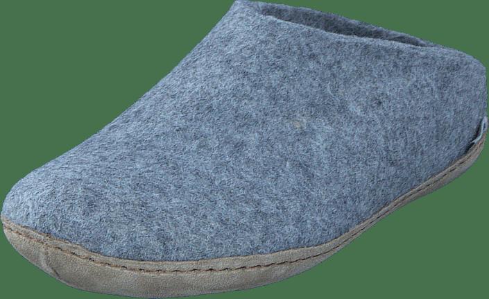 Glerups Open Heel grå blåa Skor Online