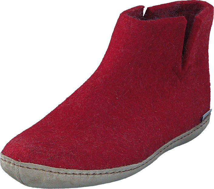 Low Boot Red