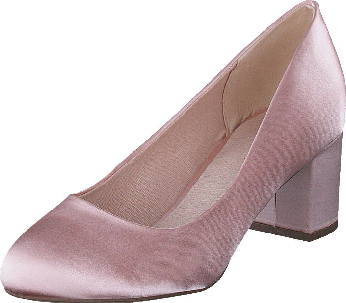 Bianco - Blok Heel Pump Powder