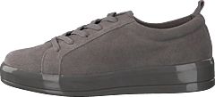 Laced Up Suede Sneaker Grey