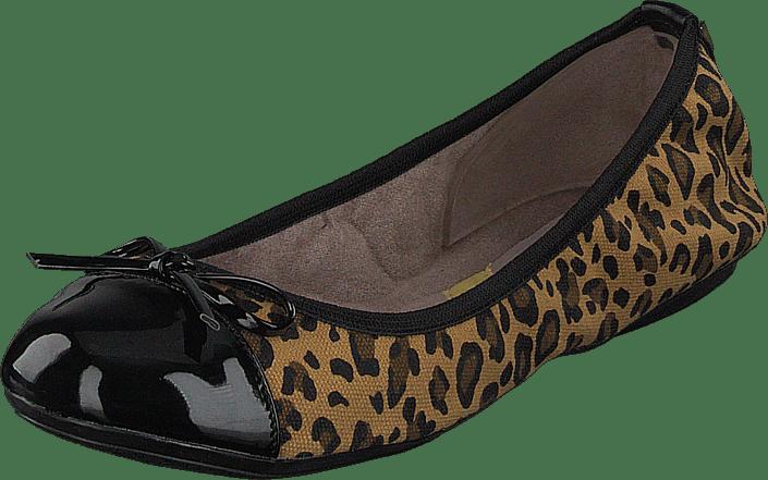 Olivia Tan Leopard