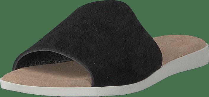 Bianco - Suede Slipper Black