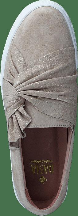 Dasia - Daylily Slip-on Bow Beige