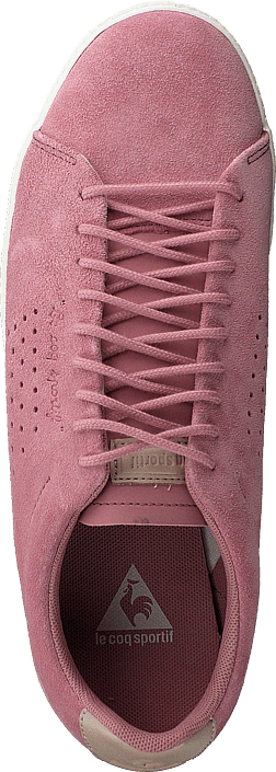 f8aecd73a8af Acheter Le Coq Sportif Charline Suede Ash Rose roses Chaussures ...