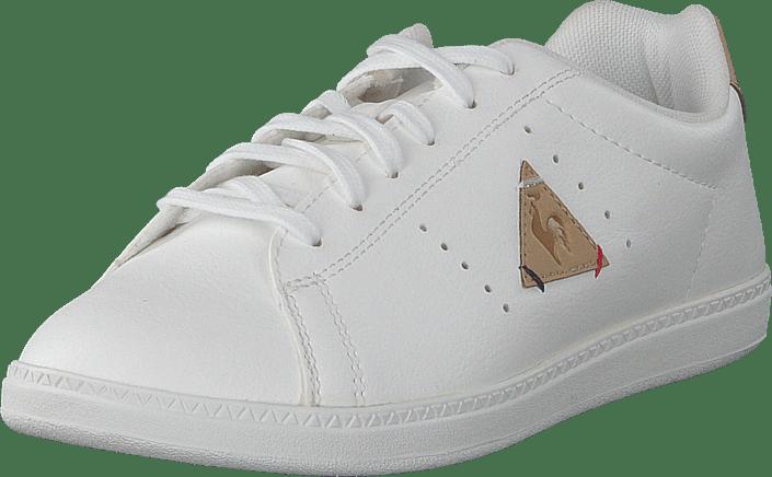 8f8a292a315e Buy Le Coq Sportif Courtone Gs Optical White croissant white Shoes ...