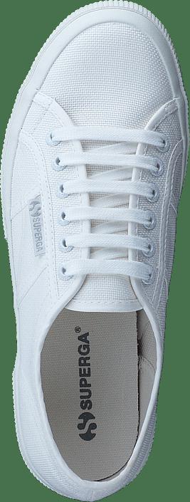 Online White Classic Sportsko Superga Og Hvite Total Sko cotu 2750 Kjøp Sneakers gq8fO7n