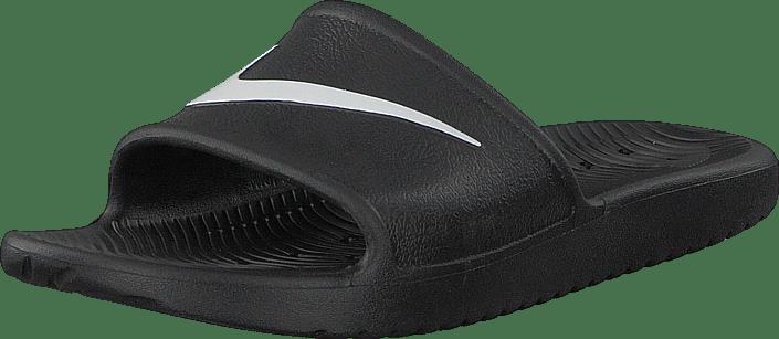 low priced c333b c7670 Nike - Kawa Shower Slide Black white