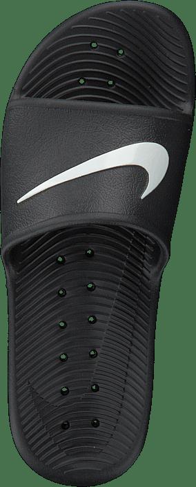 Kjøp Nike Kawa Shower Slide Black/white Sko Online