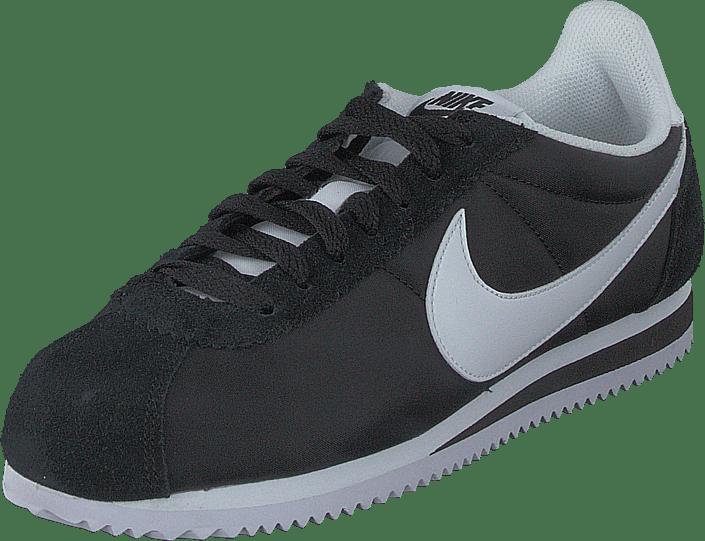 Dramaturgo Automático cantidad  Buy Nike Classic Cortez 15 Nylon Black/white Shoes Online | FOOTWAY.co.uk