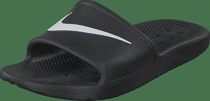 Nike Kjøp Sandaler Tøfler Black Kawa Shower Sandal white Sko Grå Og Online rrwgqdC