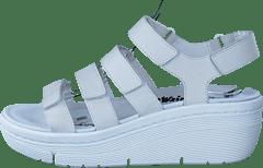 Valkoiset Matalakorkoiset Sandaletit - Valitse koko e118c558ed
