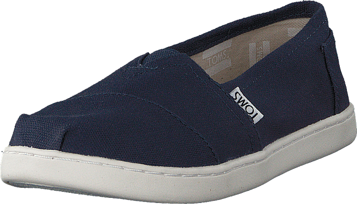 Toms - Alpargata Youth Navy Canvas