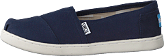 Alpargata Youth Navy Canvas