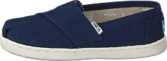 Alpargata Tiny Navy Canvas