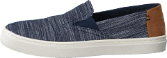 Luca Youth Navy Striped Chambray