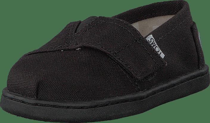 9ad7f739c3 Buy Toms Alpargata Tiny Black Canvas black Shoes Online | FOOTWAY.co.uk