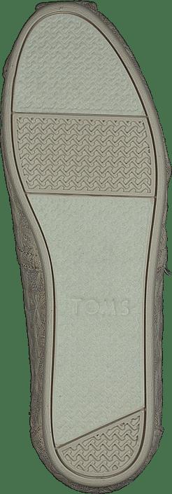 Toms - Alpargata Natural Daisy Metallic