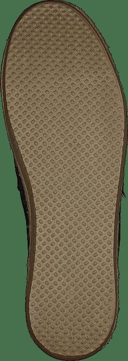 Alpargata Black Dot Chambray Rope Sole