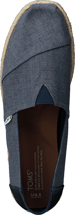 Toms - Alpargata Deep Ocean Linen/rope