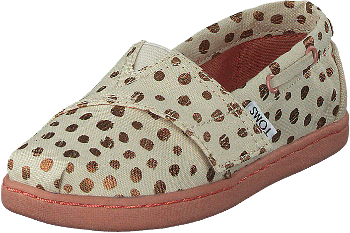 Toms - Bimini Tiny Rose Gold Dots