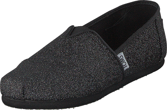 Alpargata Youth Black Iridescent Glimmer