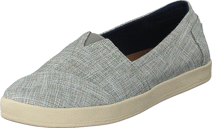 Toms - Avalon Drizzle Grey Metallic Woven