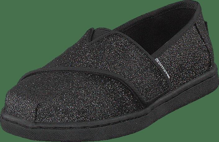 Toms - Alpargata Tiny Black Iridescent Glimmer