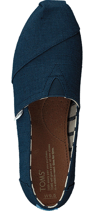 Toms Alpargata Majolica Blue Heritage Canvas 415895479
