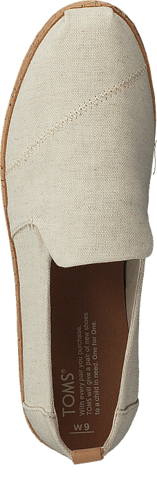 Toms - Deconstructed Alpargata Cork Natural Hemp