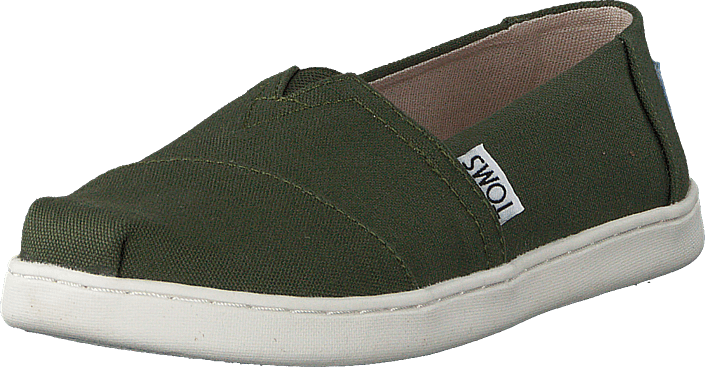 Toms - Alpargata Youth Pine Canvas