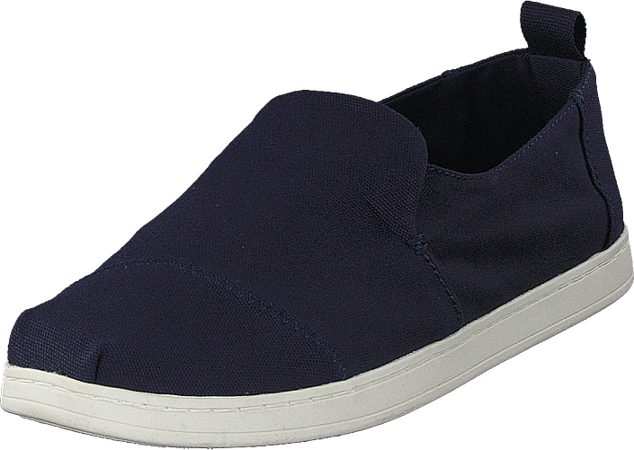 Deconstructed Alpargata Navy Canvas