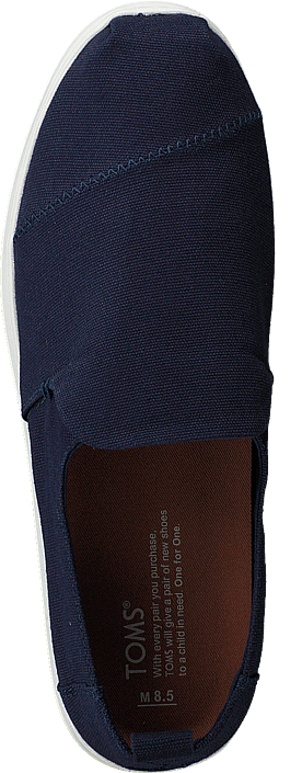 Toms - Deconstructed Alpargata Navy Canvas