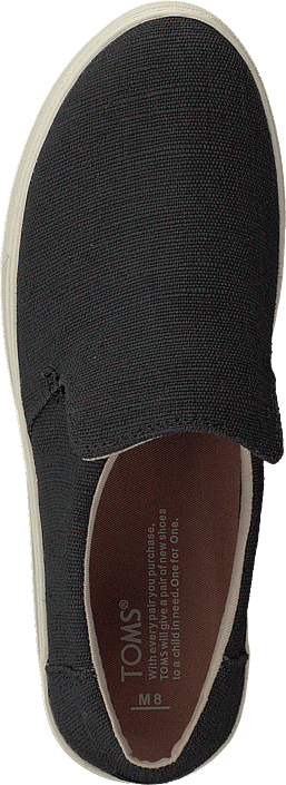 Toms - Lomas Black Heritage Canvas