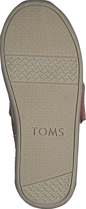 Toms - Alpargata Tiny Powder Pink Heritage Canvas
