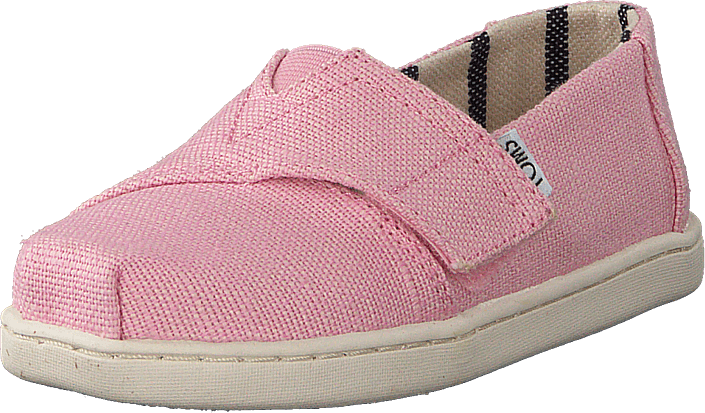 Toms - Alpargata Tiny Powder Pink Heritage Canvas