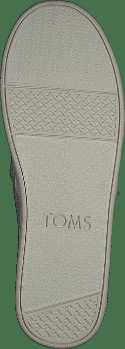 Toms - Alpargata Youth Pink Multi Twill Glimmer